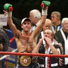 """""""The Pride of Wales,"""" who spent 11 years defending his super middleweight titles before moving up to light heavyweight to defeat Bernard Hopkins and Roy Jones, walked away unbeaten with a mark of 44-0 with 32 knockouts."""