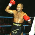 The Jamaican-born Honeyghan scored on of British boxing's greatest upsets when he stopped Donald Curry for the world welterweight title in 1986. He defended it three times, lost it to Jorge Vaca, then won it back in the rematch.