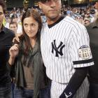 After the Yankees' shortstop and the former  Friday Night Lights  star broke up, Jeter went back to his bachelor ways: According to the  New York Post , he made a major E-6 when he gave the same gift to the same girl on two occasions. Apparantly, Jeter doesn't let his dates leave empty-handed as he gives them a signed baseball and other memorabilia as a parting gift.