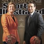 Sports Illustrated has named Duke's Mike Krzyzewski and Tennessee's Pat Summitt its 2011 Sportsman and Sportswoman of the Year. Here is a look at the careers of the legendary coaches.