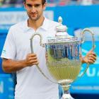 def. David Nalbandian 6-7 (3), 4-3 (DQ) ATP World Tour 250, Grass, €625,300 London