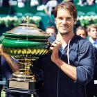def. Roger Federer 7-6 (5), 6-4  ATP World Tour 250, Grass, €663,750 Halle, Germany