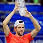 def. Milos Raonic 7-5, 7-6 (4) ATP World Tour 500, Hard (Indoor), $1,155,100  Memphis, Tenn.