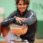 def. Novak Djokovic 6-4, 6-3, 2-6, 7-5 Grand Slam, Clay, €6,555,000 Paris