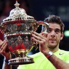 def. Roger Federer 6-4, 6-7 (5), 7-6 (3) ATP 500, Indoor Hard, €1,404,300 Basel, Switzerland