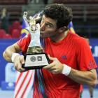 def. Julien Benneteau 7-5, 4-6, 6-3 ATP 250, Indoor Hard, $850,000 Kuala Lumpur, Malaysia