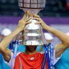 def. Fabio Fognini 6-2, 6-3 ATP 250, Indoor Hard, $410,850 St. Petersburg, Russia