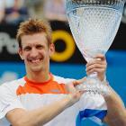 def. Julien Benneteau 6-2, 7-5 ATP World Tour 250, Hard, $434,250 Sydney