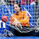 A slim catch indeed for the trawler that docked at the recent Germany-Hungary handball match in Magdeburg.
