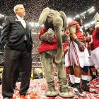 Welcome to another festive edition of  Did You See That? , the weekly photo gallery that's unafraid to cast a cold, clear eye on the world of sports. In this week's major news story, the Republican Party has endorsed the Alabama Crimson Tide as the national champions of college football.