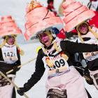"""About 1,500 rather distinctive individuals participated in the 30th annual ski race at Belalp-Blatten in southwestern Switzerland. In case you're wondering, """"Hexenabfahrt"""" is Swiss for """"cursed flatulence!"""" or """"downhill of the witches."""" We're not really sure as no one here speaks Swiss and the block of cheese in our refrigerator refuses to say."""