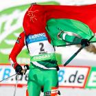 It's not hard to see why the Belarusian biathlete fell all the way to 26th in the first prone stage of her IBU World Cup event.