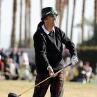 "The man who made the musical statement ""Hey Stoopid"" (  CLICK HERE  to hear its melodious strains ) looked for the bunt sign during the second round of the Humana Challenge in La Quinta, Calif."