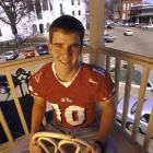 Eli poses for a portrait during his Ole Miss days. Manning set 45 school records and won several national awards in four years at Ole Miss.