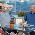 He and his father and former NBA player, Stan Love, dined at the Four Seasons in Istanbul during the World Championship.