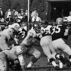 The all-pro offensive tackle (79) in action in a 37-21 win.