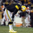 The Steelers' quarterback left the first half of a game against the Browns with a left ankle injury, but he came back to lead Pittsburgh to an important victory. The severity of the injury showed in the following weeks as Roethlisberger struggled and ultimately sat in favor of Charlie Batch. How Pittsburgh fares in the postseason will depend a lot on how well the quarterback has healed.