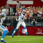 The No. 1 overall pick needed one week to prove he could play quarterback at the NFL level. And if a rookie-debut record 422 passing yards in Week 1 was not enough for skeptics, Newton topped himself the following week with 432 yards. The Panthers' quarterback threw for a rookie-record 4,051 yards this season. Newton tossed 21 touchdowns and ran in 14 more.