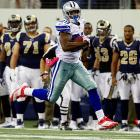The Cowboys' rookie running back hit his stride in a Week 6 blowout of the Rams when he exploded for 253 yards on 25 carries, breaking a franchise record previously held by Emmitt Smith and Tony Dorsett. Murray started early, with a 91-yard touchdown run in the first quarter, and kept running well until Week 14, when an ankle injury ended his season.