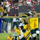 The defending Super Bowl champion Packers turned in a stunningly sloppy performance against the Giants in the Divisional Round, dropping eight passes and turning the ball over four times en route to a 37-20 loss at Lambeau Field. Quarterback Aaron Rodgers wasn't his usual stellar self, raising questions about whether the MVP-to-be -- who had last played in Week 16 -- had too much time off.