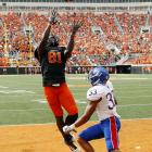 There was hardly any doubt that the two-time Biletnikoff Award winner would leave Oklahoma State early. The record-setting wideout declared for the draft immediately after OSU's Fiesta Bowl win.
