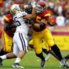 The younger brother of Panthers center Ryan Kalil, former USC left tackle Matt Kalil is considered the best offensive lineman in the draft. Look for him to get taken very early.