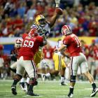 Just a redshirt sophomore, Brockers has loads of talent but is still a little bit raw. The 6-foot-6 defensive tackle was third on LSU in tackles for loss in 2011 and is being projected to go anywhere from the mid to late first-round.