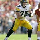 Reiff isn't as highly rated as Kalil, but he's not far behind. The replacement for former Iowa standout (and current Packers starter) Bryan Bulaga is projected to go in the top 10.