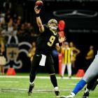 The record setting QB's contract expires after this season, though he'll likely re-sign with the Saints before the league year begins on March 13.