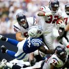 Mathis didn't let the Colts dismal season stop him from making an impact, as the ninth-year defensive end earned his fourth straight trip to the Pro Bowl with 9.5 sacks.