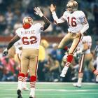 The 49ers didn't miss a beat without Walsh, winning their second straight championship by smashing Denver 55-10 in Super Bowl XXIV. Montana won his third career Super Bowl MVP award for his 297-yard, five-touchdown performance.