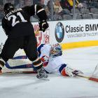 """The new campaign dawns and DiPietro takes a puck to the mask in practice on October 12, suffering a concussion that puts him out for three games. Returning to the net for a Dec. 3 tilt in Dallas, he tweaks his groin and is placed on injured reserve 12 days later. On January 14, 2012, the Isles announce that DiPietro has a sports hernia that requires surgery and he will be sidelined for 10 weeks. """"This is something I thought would just heal up and go away, and instead it got more and more debilitating,"""" DiPietro tells  Newsday . """"I'm almost bionic at this point.""""   Newsday  calculates that during the past four years, the hoo-doo'ed goaltender has appeared in all of 47 games, winning 14, while being paid $18 million, or a little more than $1.2 million per victory. And there are still nine years left to go on his contract..."""