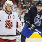 Eric Staal and Patrick Kane.