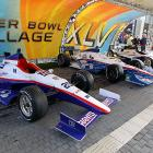 It wouldn't be an Indy Super Bowl without race cars.