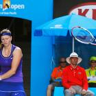 The Czech's bid for a second major title and the No. 1 ranking evaporated in a semifinal loss to Maria Sharapova, the woman she beat to win Wimbledon last year.