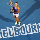 def. Maria Sharapova 6-3, 6-0 Grand Slam, Hard (Outdoor), $12,122,762 Melbourne, Australia