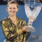 def. Li Na 6-2, 1-6, 6-3 WTA Premier, Hard (Outdoor), $637,000 Sydney