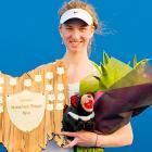 def. Yanina Wickmayer 6-1, 6-2 WTA International, Hard (Outdoor), $220,000 Hobart, Australia