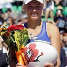 def. Kaia Kanepi 6-1, 6-0 WTA International, Hard, $500,000 Seoul, Korea