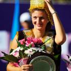 def. Donna Vekic 6-4, 6-4 WTA International, Hard, $220,000 Tashkent, Uzbekistan