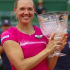 def. Carla Suarez Navarro 3-6, 7-6 (6), 6-4 WTA International, Clay (Outdoors), $220,000 Estoril, Portugal