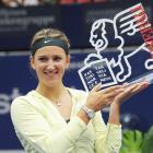 def. Julia Goerges 6-3, 6-4 WTA International, Indoor Hard, $220,000 Linz, Austria