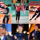 The U.S. hauled in medals, 34 in total, more than three times its previous best performance and second only to Germany. Eight of those medals came from long-track speedskaters at the Utah Olympic Oval. Casey FitzRandolph, Derek Parra and Chris Witty (top left to right) won gold (Parra a silver, too). Kip Carpenter, Joey Cheek and Jennifer Rodriguez (bottom left to right) each added a bronze (Rodriguez with a pair).