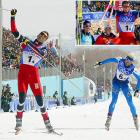 In perhaps the greatest Winter Olympic rivalry of that era, Norway edged Italy to win the 4x10-kilometer cross-country relay for the third time in four Olympics. After 92 minutes of racing, Norway's Thomas Alsgaard beat Italy's Cristian Zorzi by little more than a ski tip -- three tenths of a second. It marked the third straight Games that Norway and Italy were separated by less than a half-second.