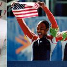 A former sprinter at UAB, Vonetta Flowers took up bobsledding and, as a brakewoman, joined driver Jill Bakken. The duo won the first Olympic women's bobsled event. Flowers became the first black athlete to win Winter Olympic gold.
