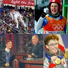 A Harry Potter look-a-like took Park City by storm, winning both the normal- and large-hill ski jumps. Switzerland's Simon Ammann, 20, had never so much as won a single World Cup ski jump event. But he flew out of his mind at the Olympics, beating favorites Adam Malysz and Sven Hannawald and letting off ear-splitting screams at the bottom of the hill each time. Ammann became the first jumper since flying Finn Matti Nykanen to sweep the individual ski jumps.