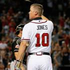 Jones, who spent his entire 18-year career with Atlanta, will go down as one of the game's greatest switch-hitters, a guy who could hit for average (.303 in his career) and power (468 homers and 1,623 RBIs).  When healthy, the eight-time all-star was one of the game's most feared hitters. His best season was in 1999, when he won the MVP award with a .319 average, a career-best 45 homers and 110 RBIs. Nine years later, at 36, he won his first batting title with a career-high .364 average, which remained the last of his 10 seasons hitting above .300.