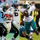 The enigmatic running back brought an end to his up-and-down career on Feb. 7, when he announced his retirement -- presumably for good, this time -- 13 years after he was drafted by the Saints. The longtime Dolphin led the league in rushing in 2002, left football in 2004 and was suspended for the entire 2006 season after failing his third drug test. Williams, who played the 2011 season with the Ravens, is one of 26 players to rush for more than 10,000 yards.
