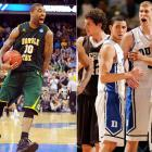 In the history of the NCAA tournament, only four times before 2012 had a No. 15 seed defeated a No. 2. That changed dramatically on March 16, when mighty Duke lost to Lehigh of the Patriot League and Missouri was toppled by Norfolk State. On the same night, a 13-seed, Ohio, stunned Michigan, which was a four-seed.