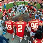 This has been a rough year for the NFL, but nothing shocked the league, and the nation, more than the Saturday morning news that Kansas City linebacker Jovan Belcher killed his girlfriend and then committed suicide. The tragedy once again brought into question the psychological toll that the contact-heavy sport causes upon its athletes. After consulting with the Chiefs players, NFL Commissioner Roger Goodell decided that the Chiefs-Panthers game would go on as scheduled. The Chiefs responded with an emotional 27-21 win.